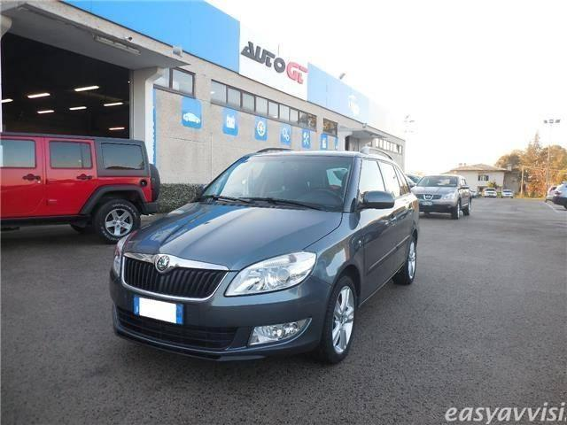 sold skoda fabia 1 6 tdi cr 90cv w used cars for sale. Black Bedroom Furniture Sets. Home Design Ideas