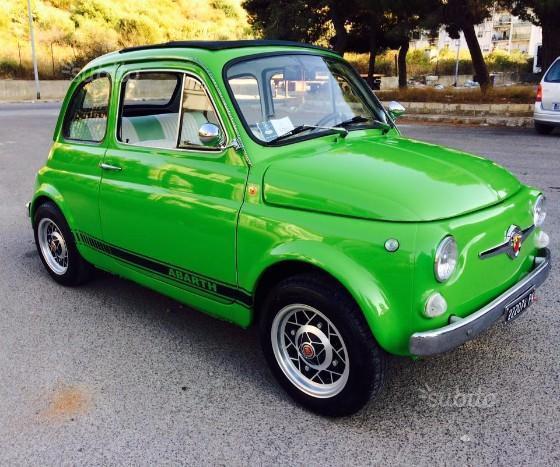 Venduto Fiat 500 Abarth F Epoca Libr Auto Usate In Vendita