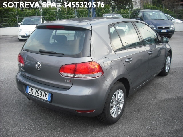 sold vw golf serie 6 1 6 tdi dpf used cars for sale. Black Bedroom Furniture Sets. Home Design Ideas