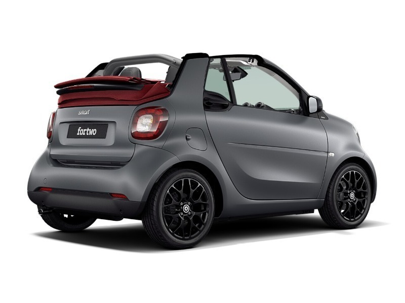 venduto smart fortwo cabrio 90 turbo auto usate in vendita. Black Bedroom Furniture Sets. Home Design Ideas