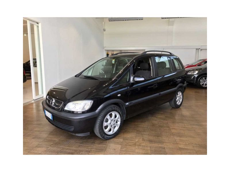 usato 1 6 16v twinport enjoy opel zafira 2005 km in torino to. Black Bedroom Furniture Sets. Home Design Ideas