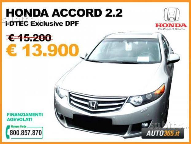 sold honda accord 2 2 i dtec exclu used cars for sale autouncle. Black Bedroom Furniture Sets. Home Design Ideas