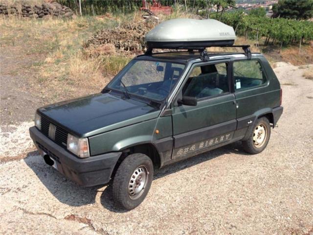 Sold fiat panda 4x4 sisley 4x4 used cars for sale for Panda 4x4 sisley off road