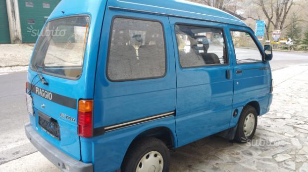 sold piaggio porter 4x4 used cars for sale autouncle. Black Bedroom Furniture Sets. Home Design Ideas