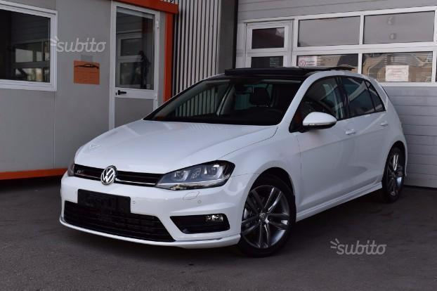 sold vw golf vii 2 0 tdi r line xe used cars for sale. Black Bedroom Furniture Sets. Home Design Ideas