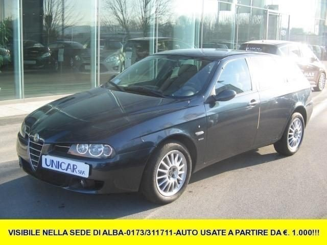 usato 1 9 jtd 16v sw distinctive 150cv alfa romeo 156 2005 km in alba cn. Black Bedroom Furniture Sets. Home Design Ideas