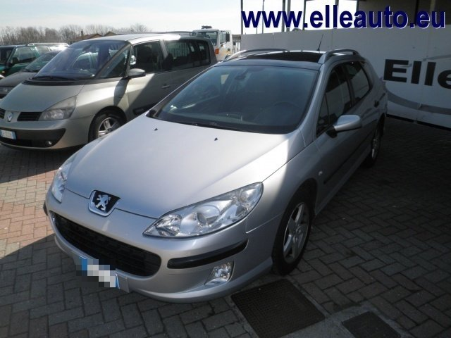 sold peugeot 407 1 6 hdi sw navteq used cars for sale. Black Bedroom Furniture Sets. Home Design Ideas