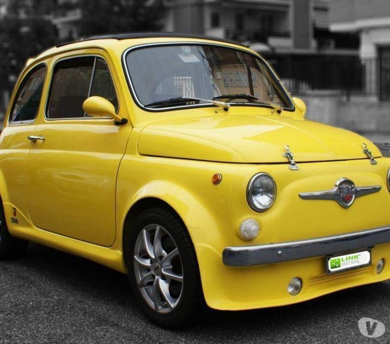 Sold Fiat 500 Abarth L 1971, Alles.