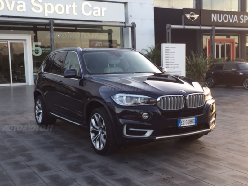 1/4 Usata BMW X5 XDrive30d 258CV Experience Del 2015 Usata A Catania