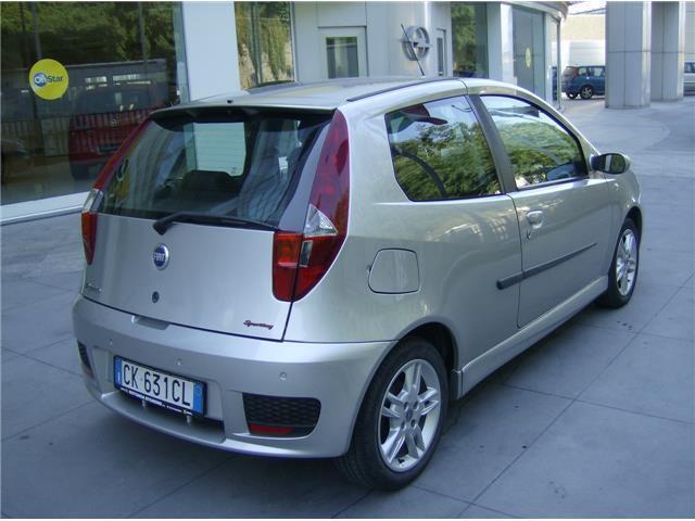 sold fiat punto sporting 1 4 95 cv used cars for sale. Black Bedroom Furniture Sets. Home Design Ideas