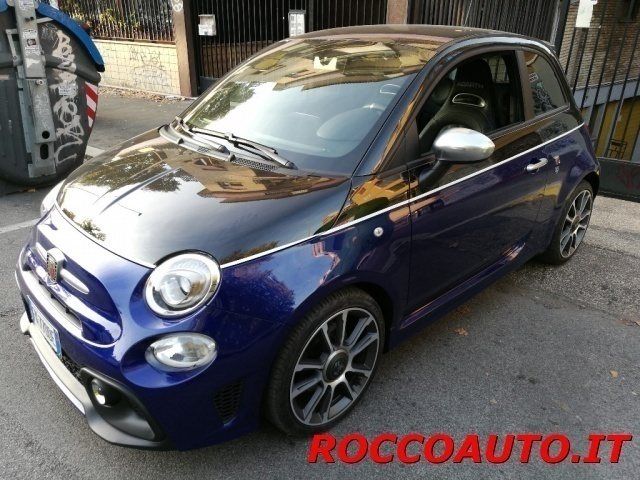 sold fiat 500 abarth 1 4 turbo t j used cars for sale. Black Bedroom Furniture Sets. Home Design Ideas