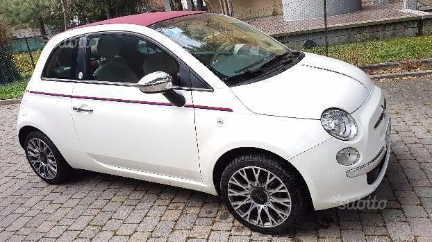 sold fiat 500 cabrio limited editi used cars for sale. Black Bedroom Furniture Sets. Home Design Ideas