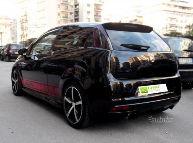 Sold Fiat Grande Punto 1 9 Mjt 130 Used Cars For Sale
