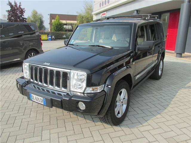 sold jeep commander 3 0 crd limited used cars for sale. Black Bedroom Furniture Sets. Home Design Ideas