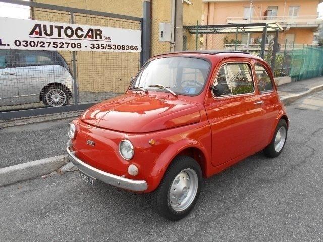 Venduto Fiat 500 R Rosso Corallo Orig Auto Usate In Vendita