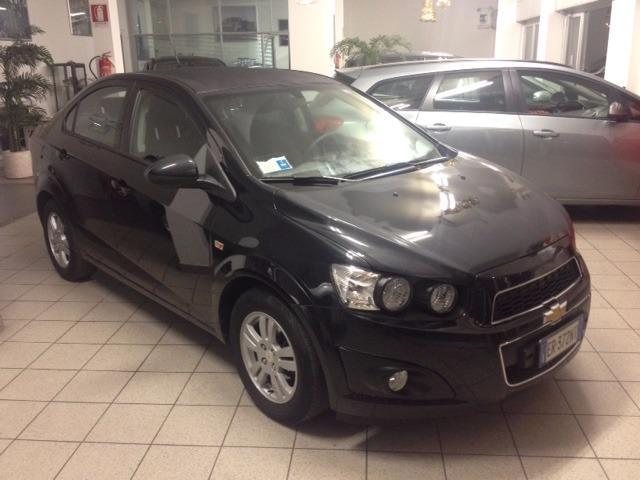 Sold Chevrolet Aveo 12 86cv Gpl 5 Used Cars For Sale