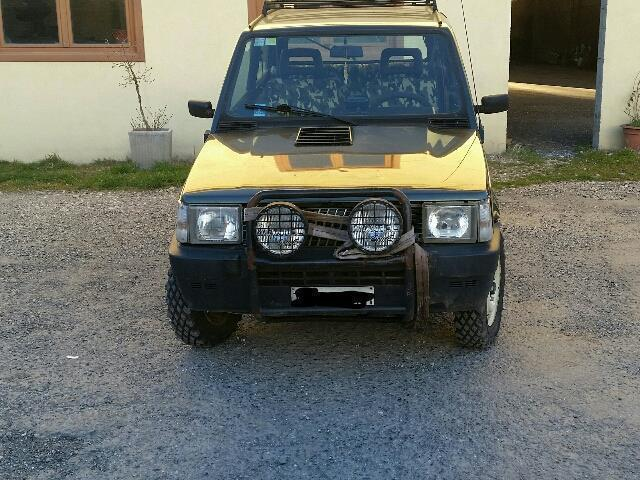 Sold fiat panda 4x4 1000 4x4 sisley used cars for sale for Immagini panda 4x4