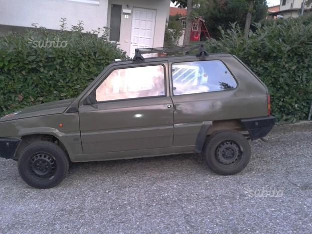 sold fiat panda 4x4 4x4 rock moret used cars for sale. Black Bedroom Furniture Sets. Home Design Ideas