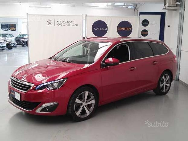 sold peugeot 308 sw bluehdi 150cv used cars for sale. Black Bedroom Furniture Sets. Home Design Ideas
