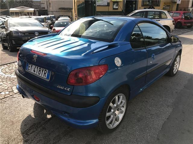 sold peugeot 206 cc 1 6 16v used cars for sale autouncle. Black Bedroom Furniture Sets. Home Design Ideas
