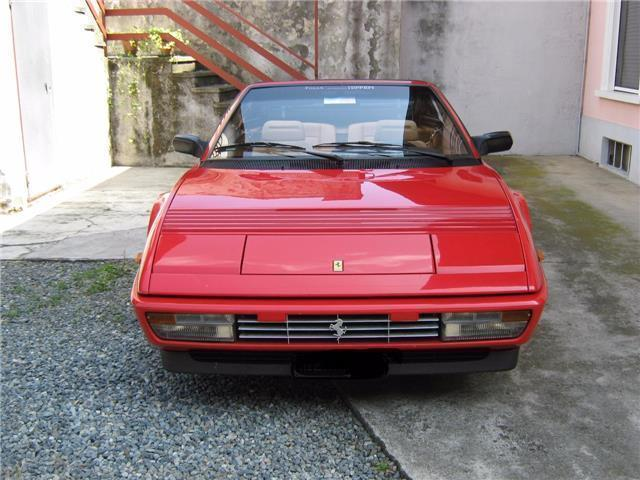 usato cabrio ferrari mondial 1991 km in camaiore lucca. Black Bedroom Furniture Sets. Home Design Ideas