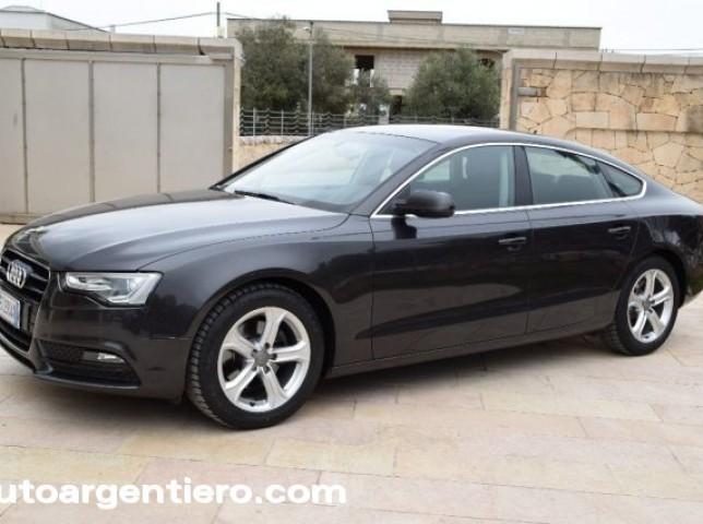 Audi a5 tdi usato bianco 4