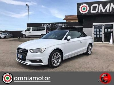 usata Audi A3 Cabriolet - - 2.0 TDI cl.d S tr. Attraction