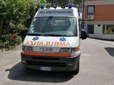 usata Fiat Ducato 14 2.8 JTD PM Ambulanza GV