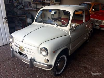 usado Fiat 600D - Anno 1962