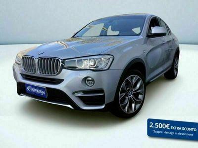 usata BMW X4 xdrive20d xLine auto