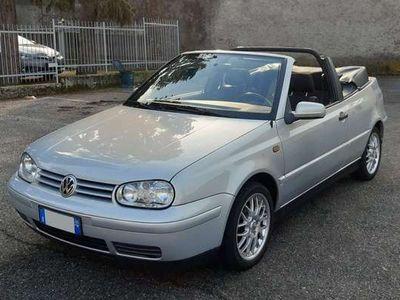 usata VW Golf Cabriolet 1.6 iscritta ASI
