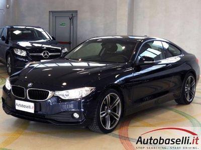 usata BMW 420 SERIE 4 COUPE' D 184CV AUTOMATICA EURO6B