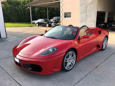 usata Ferrari F430 Spider F1 Uniprop. Tagliandi Rosso corsa