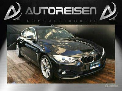 usata BMW 420 d Coupé Sport Cerchi da 18 + Tetto Apribile