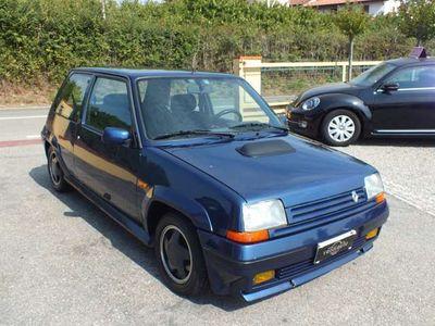 usata Renault R5 GT-TURBO BLU SPORT-DOCUMENTI ORIGINALI!