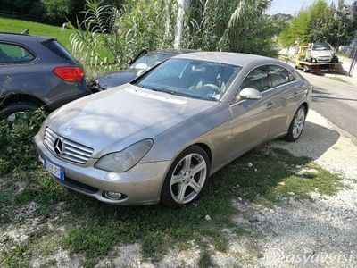 usata Mercedes CLS320 cdi chrome diesel