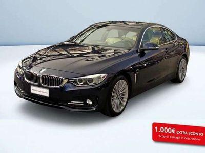 usata BMW 420 SERIE 4 COUPE d Coupe Luxury 184cv auto