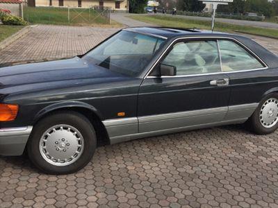 usata Mercedes 560 sec - asi + crs