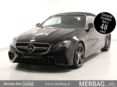 usata Mercedes E53 AMG 4Matic+ EQ-Boost Cabrio AMG