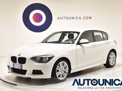 usata BMW 118 D 5 PORTE MSPORT NAVI SENS ALCANTARA CERCHI 17'