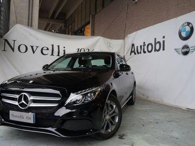 usata Mercedes C200 -W205 Berlina Diesel d Sport (BT) auto