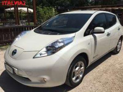 usata Nissan Leaf elettrico sincrono trifase acenta flex elettrica