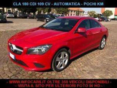 usata Mercedes CLA180 cdi 109 cv automatic sport diesel