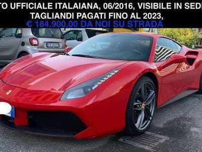 usata Ferrari 488 GTB, GARANZIA POWER APPENA TAGLIANDATA