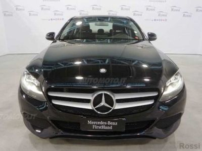 gebraucht Mercedes 180 Classe C Station WagonAutomatic Business del 2017 usata a Narni