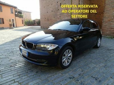 usata BMW 118 d cat 3 porte Eletta DPF