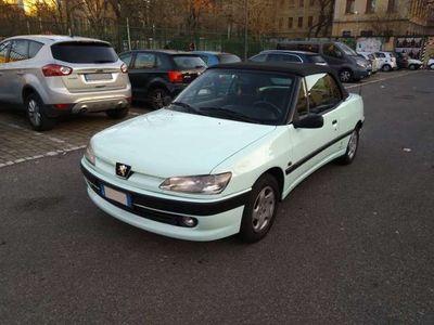 usata Peugeot 306 Cabriolet 1.6i cat GPL, NEOPATENTATI