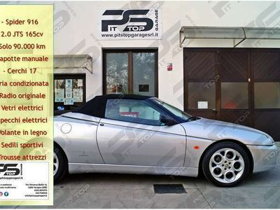 usata Alfa Romeo Spider 916 2.0i JTS 16V 165cv - Capotte manuale -