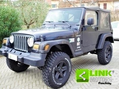 gebraucht Jeep Wrangler 2.4 CAT Sport - Soft TOP + Impianto GPL