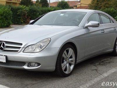 usata Mercedes CLS320 cdi sport pelle navi tagliandi mercedes diesel